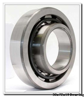 30 mm x 72 mm x 19 mm  ISO 7306 A angular contact ball bearings