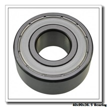 40 mm x 90 mm x 36,5 mm  ISB 3308 DTN9 angular contact ball bearings