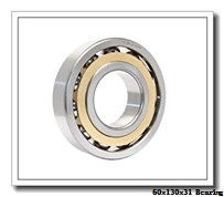 60 mm x 130 mm x 31 mm  NTN 6312NR deep groove ball bearings