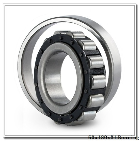 60,000 mm x 130,000 mm x 31,000 mm  NTN NF312E cylindrical roller bearings