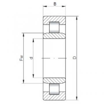 70 mm x 150 mm x 35 mm  ISO NU314 cylindrical roller bearings
