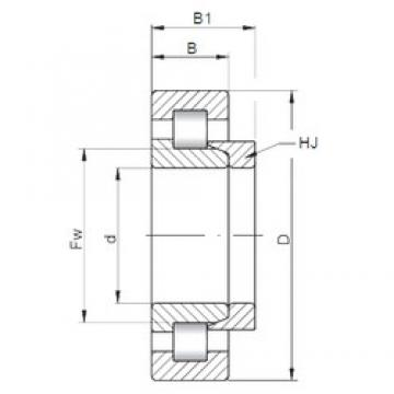 130 mm x 280 mm x 93 mm  ISO NH2326 cylindrical roller bearings