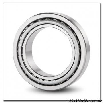 120 mm x 180 mm x 38 mm  ISO 32024 tapered roller bearings
