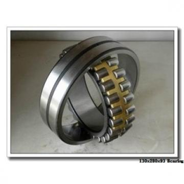 130 mm x 280 mm x 93 mm  NACHI NUP 2326 E cylindrical roller bearings
