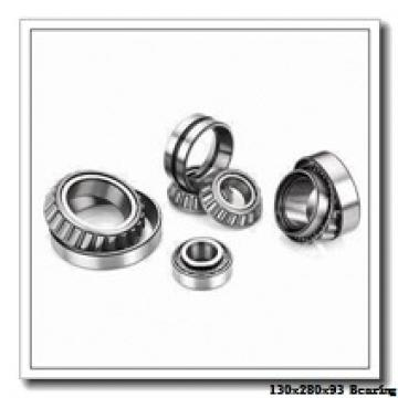 130 mm x 280 mm x 93 mm  NSK 22326CKE4 spherical roller bearings