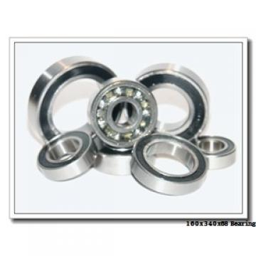 160 mm x 340 mm x 68 mm  NTN 7332DB angular contact ball bearings