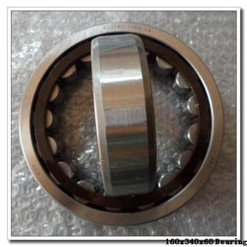 160 mm x 340 mm x 68 mm  NACHI 7332 angular contact ball bearings
