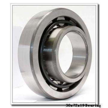 30 mm x 72 mm x 19 mm  NTN 7306DT angular contact ball bearings