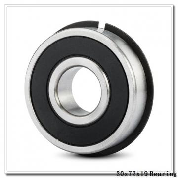 30 mm x 72 mm x 19 mm  Timken 306WG deep groove ball bearings