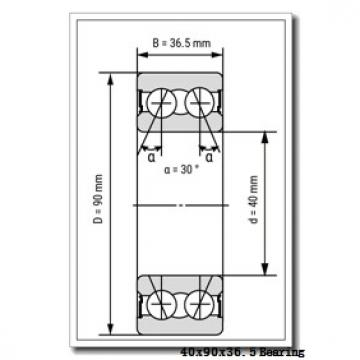 40 mm x 90 mm x 36,5 mm  Loyal NUP3308 cylindrical roller bearings