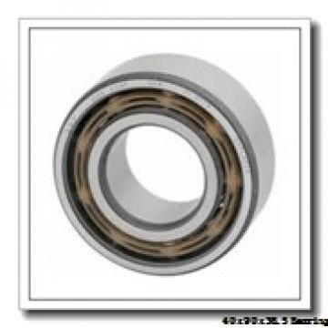 40 mm x 90 mm x 36,5 mm  Loyal 3308-2RS angular contact ball bearings