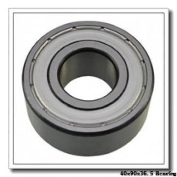 40 mm x 90 mm x 36,5 mm  ZEN S5308 angular contact ball bearings