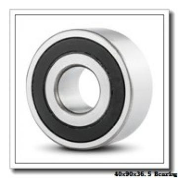40 mm x 90 mm x 36,5 mm  Loyal NU3308 cylindrical roller bearings