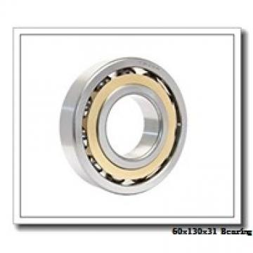 60 mm x 130 mm x 31 mm  ISB NJ 312 cylindrical roller bearings