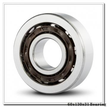 60 mm x 130 mm x 31 mm  KBC 6312UU deep groove ball bearings