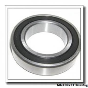 60 mm x 130 mm x 31 mm  KOYO 7312 angular contact ball bearings