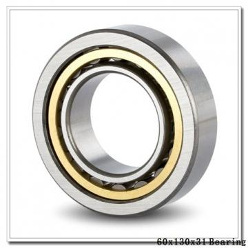 60 mm x 130 mm x 31 mm  NACHI 7312DF angular contact ball bearings