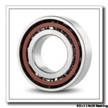 80 mm x 110 mm x 16 mm  NACHI 6916NR deep groove ball bearings