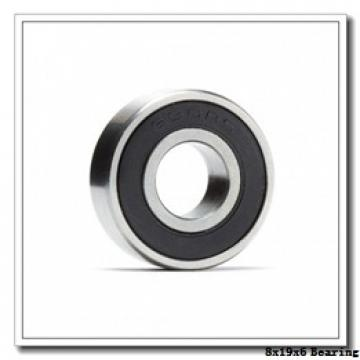 8 mm x 19 mm x 6 mm  NSK 698 VV deep groove ball bearings