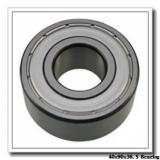 40 mm x 90 mm x 36,5 mm  FBJ 5308-2RS angular contact ball bearings