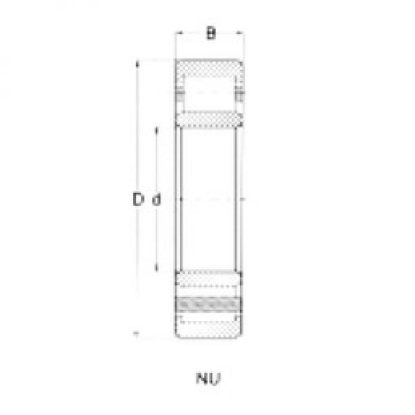 70 mm x 150 mm x 35 mm  Loyal NU314 cylindrical roller bearings #3 image