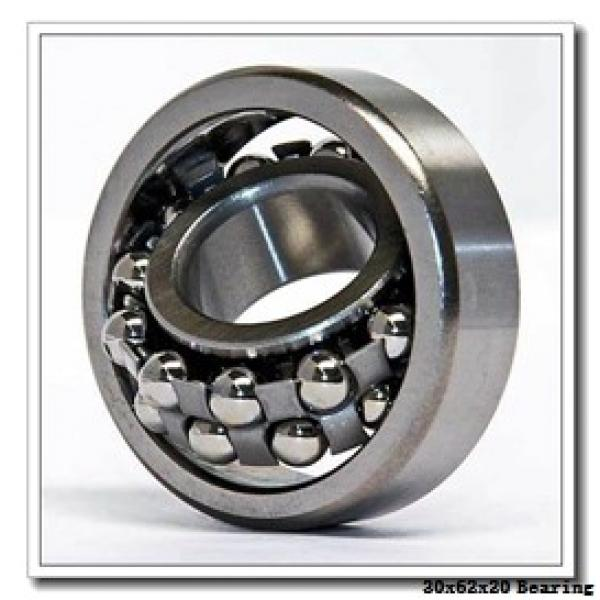 30 mm x 62 mm x 20 mm  Fersa 62206 deep groove ball bearings #1 image