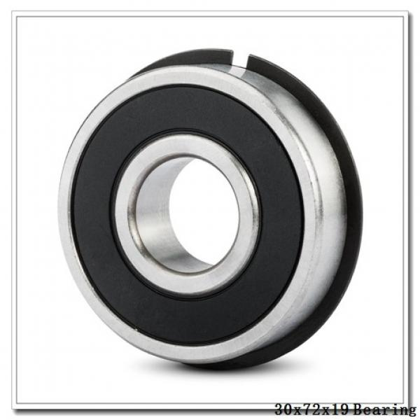 30 mm x 72 mm x 19 mm  NKE NUP306-E-MPA cylindrical roller bearings #2 image