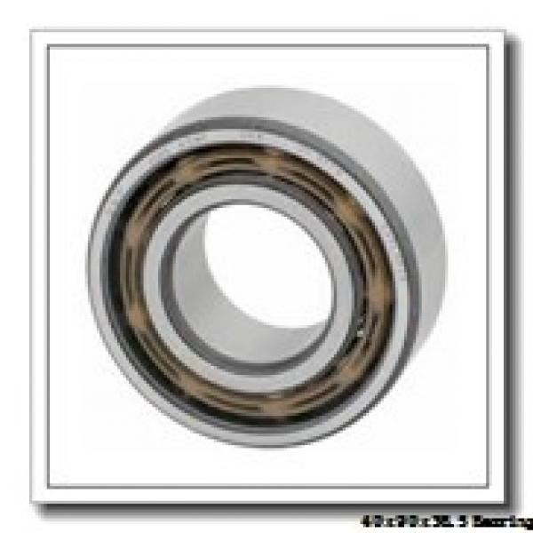40 mm x 90 mm x 36,5 mm  ISO NU3308 cylindrical roller bearings #1 image