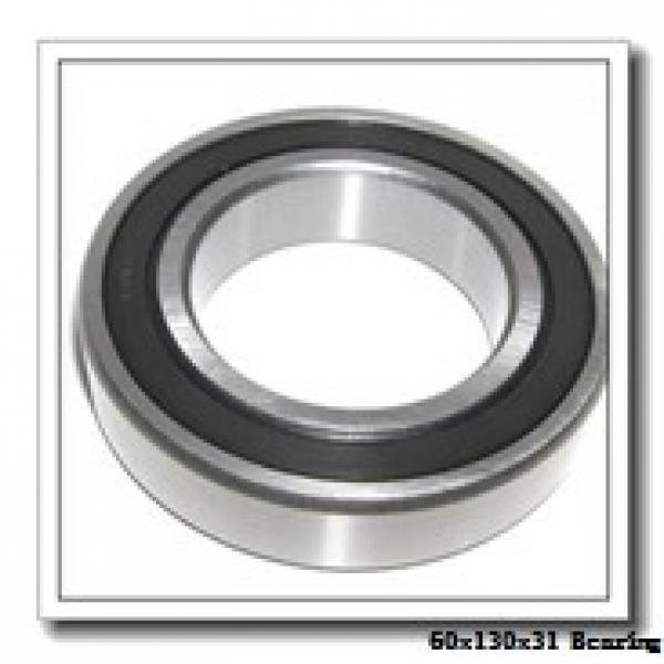 60 mm x 130 mm x 31 mm  NKE 6312-N deep groove ball bearings #2 image