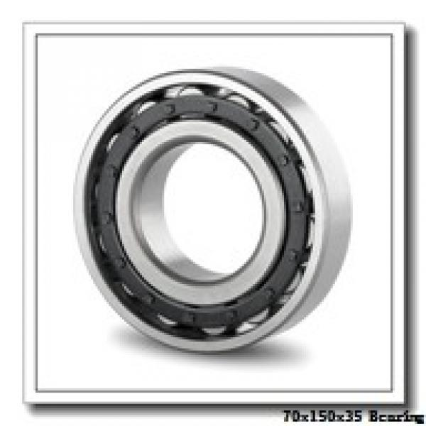 70 mm x 150 mm x 35 mm  Loyal NU314 cylindrical roller bearings #1 image