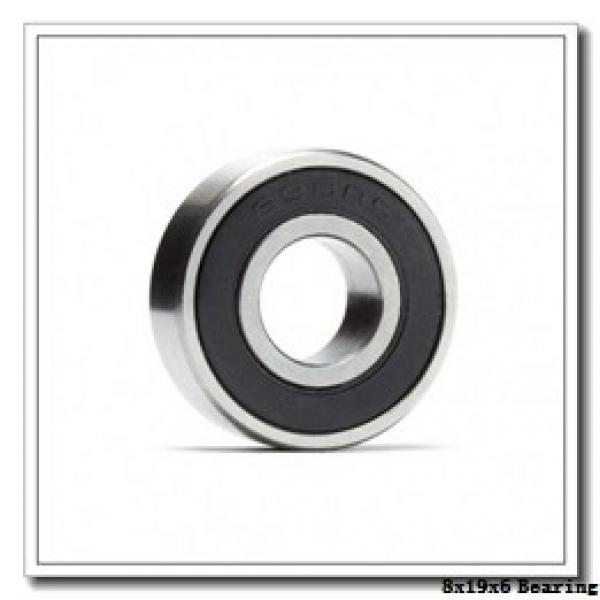 8 mm x 19 mm x 6 mm  NMB RF-1980 deep groove ball bearings #1 image